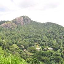 Just before Nuwara (Kandy).