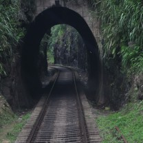 A small tunnel.